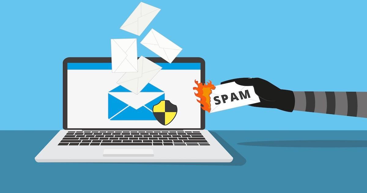 alasan email masuk spam