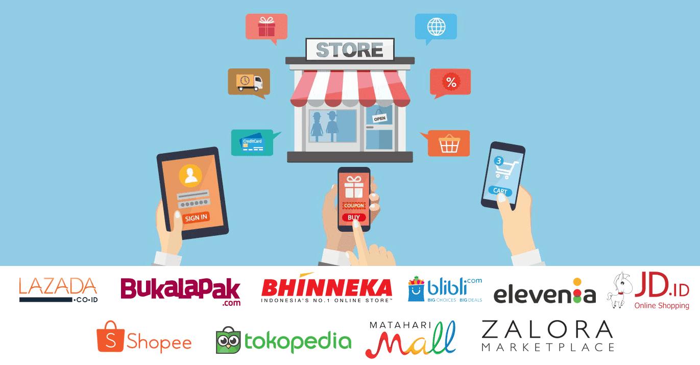 situs e commerce teratas 2019