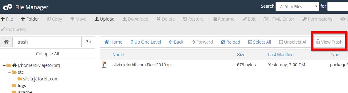 delete dan restore 4