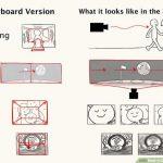 membuat storyboard