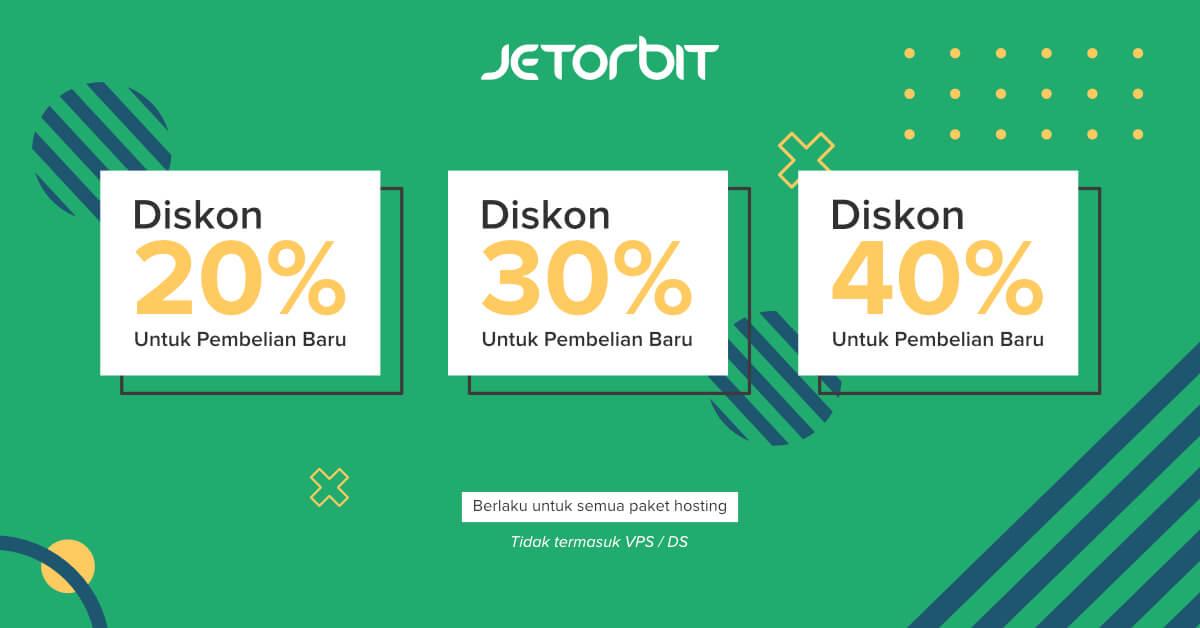 Promo Hosting Jetorbit Juli 2020 Diskon Hingga 40 Jetorbit Blog Tutorial Dan Informasi Web Hosting Indonesia