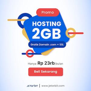 promo hosting murah jetorbit