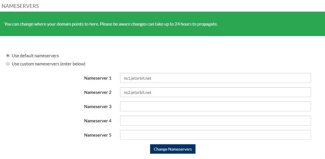 Cara Mengganti Nameserver Domain di Jetorbit.com