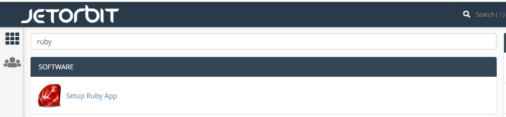 Cara Setup Aplikasi Ruby Di Cpanel