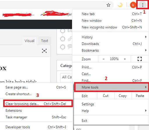 Cara Menghapus Cache di Browser Chrome dan Firefox