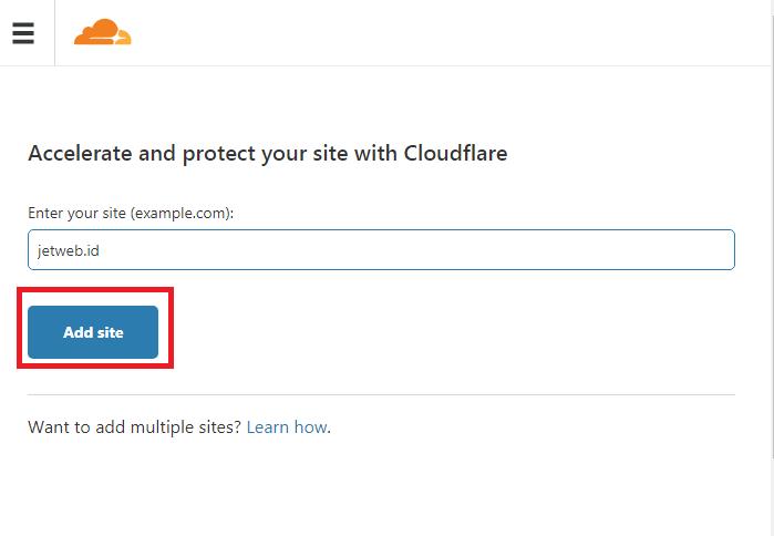 Cara Setting Cloudflare di Cpanel