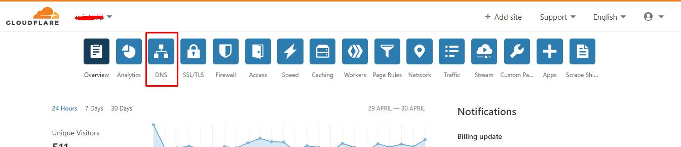 Cara Menonaktifkan CDN Cloudflare