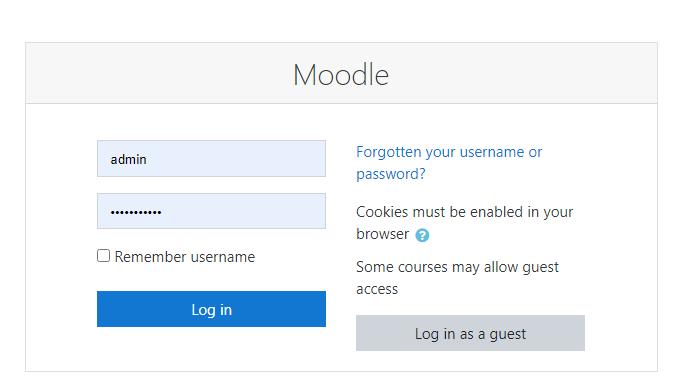 Cara Install Moodle di Hosting