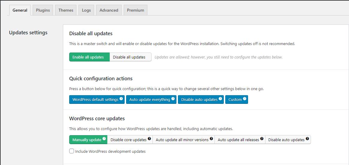 Cara Mematikan Auto Update WordPress