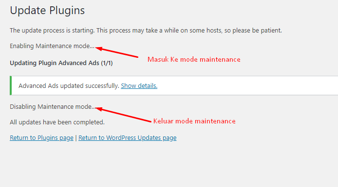 Mengenal Dan Mengatasi Briefly unavailable for scheduled maintenance