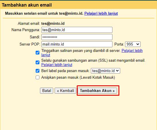 Cara Menghubungkan Email Hosting Dengan Domain Sendiri di Gmail