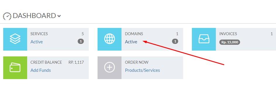 Cara Setting Redirect Domain Masking dengan URL frame
