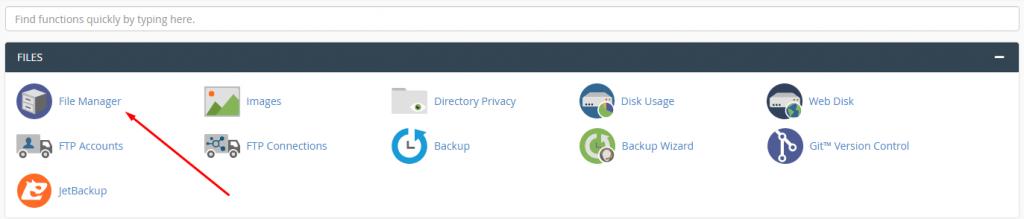 Cara Download File di Cpanel