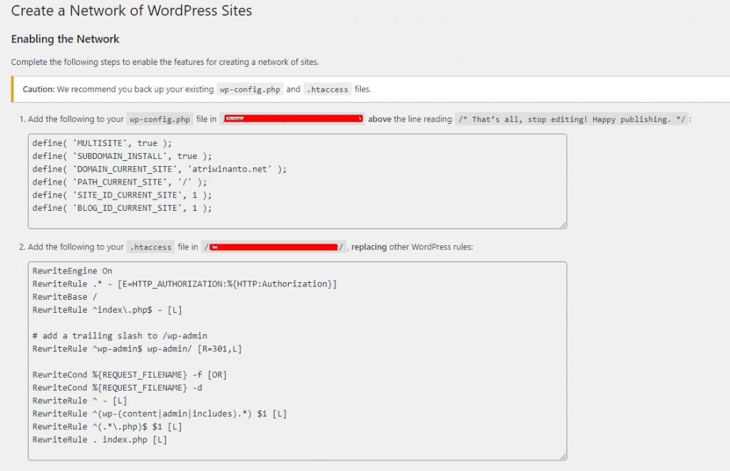 Cara Install dan Setup WordPress Multisite