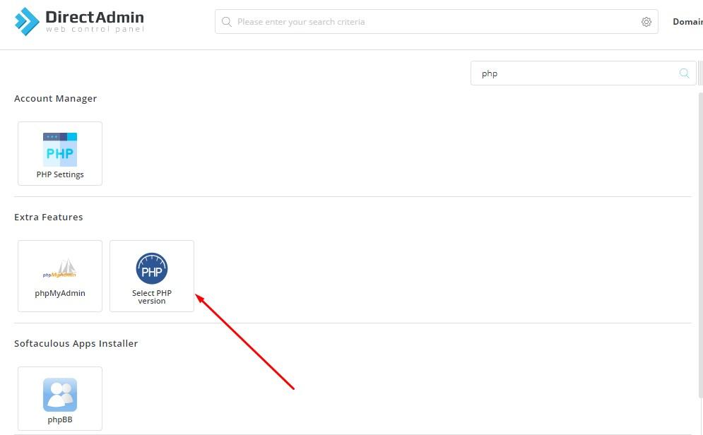 Cara Mengubah max_execution_time di Directadmin