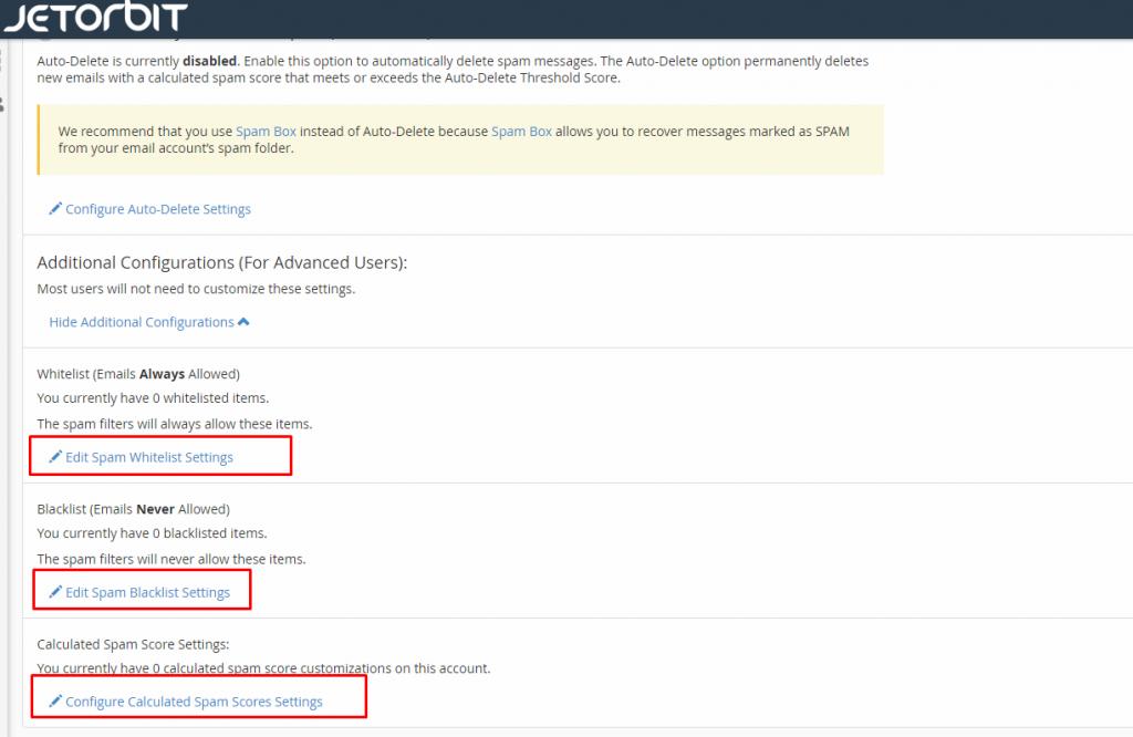 Cara Menggunakan Spam Filter di Cpanel