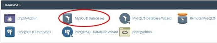 Klik MySQL Database