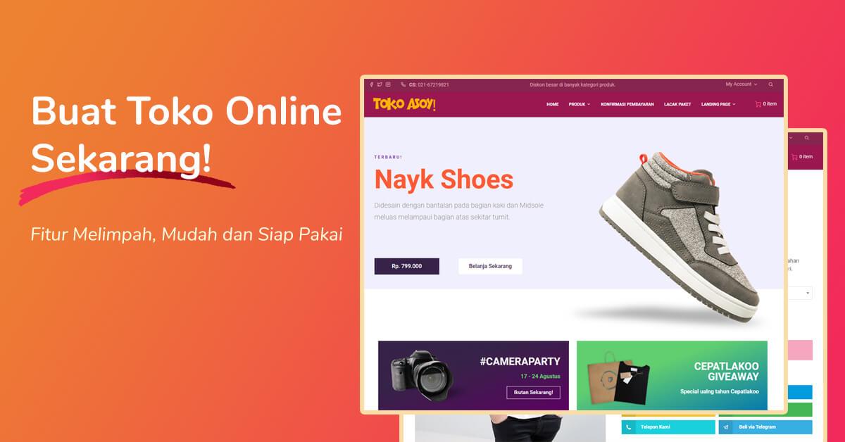 toko online dan hosting murah